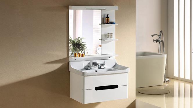 浴室柜实木台上洗脸盆柜 进口现代橡木洗漱台吊柜卫浴柜组合2988 800mm1000mm
