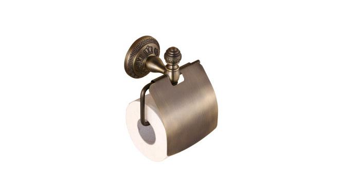 卫浴纸巾架厕纸盒手纸盒卫生间创意欧式仿古浴室卷纸巾盒架浴室五金挂件26886