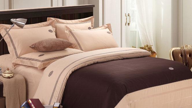 全棉床上用品床品四件套床单被套精梳纯棉婚庆4件套繁华似锦