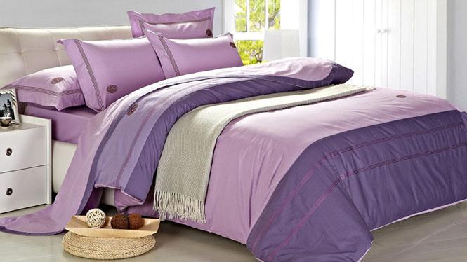 床上用品纯棉四件套全棉床单被套四件套件精梳全棉新品龙的传人