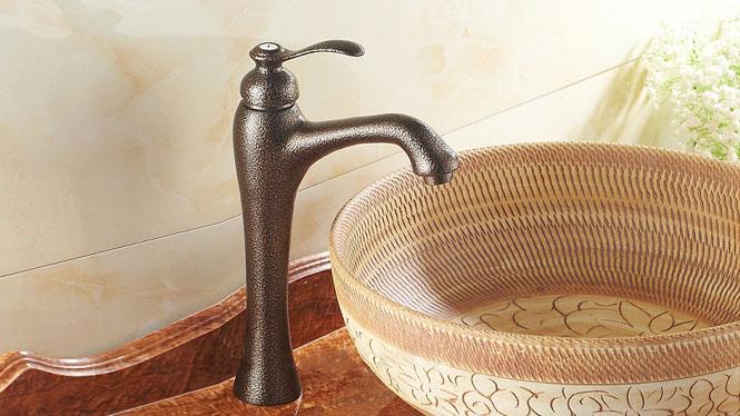 全铜冷热水龙头 洗脸盆洗手盆台上盆台下盆面盆水龙头FES-9886G
