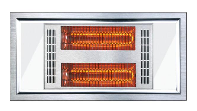 集成吊顶 碳纤维四合一浴霸 集成电器模块 型材碳纤维LED四合一D-30