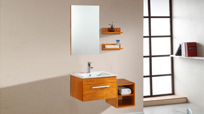 实木卫浴柜洗漱台卫生间洗手洗脸盆柜组合现代简约浴室柜850mm 1051