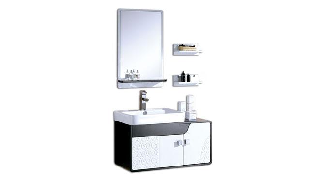 实木卫浴柜洗漱台卫生间洗手洗脸盆柜组合现代简约浴室柜900mm 1036