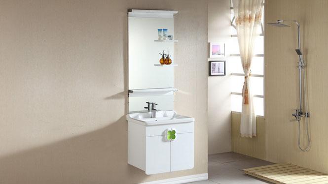 浴室柜现代简约卫生间洗漱台洗手洗脸台盆实木卫浴柜组合吊柜600mm800mm1000mm 1035