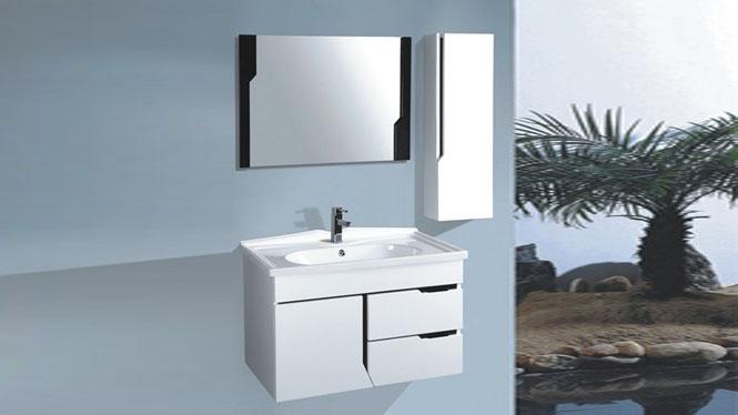 浴室柜组合 卫浴柜洗漱台盆洗脸洗手面盆柜 现代简约浴室柜800mm 1020