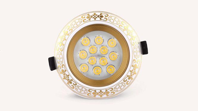 欧式射灯led3W5W7W12W客厅吊顶猫眼牛眼灯孔灯陶瓷天花灯灯具L005
