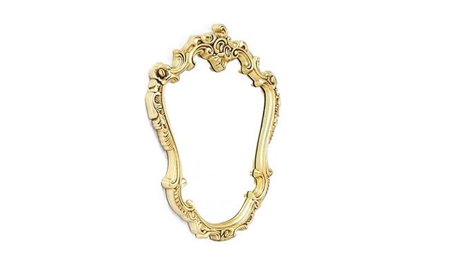 发廊镜子理发美发镜台化妆台欧式理发镜高档单面镜台KT074