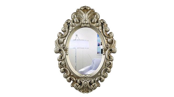 不锈钢浴室镜子不锈钢镜框卫生间镜挂墙镜子浴柜镜子KT025