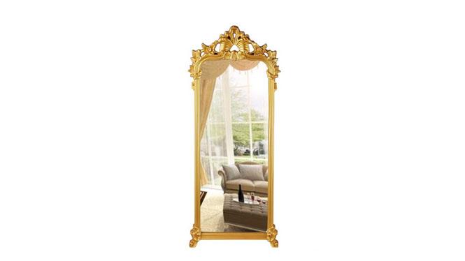 全身镜穿衣镜落地镜子客厅卧室服装店试衣镜支架镜壁挂镜KT069