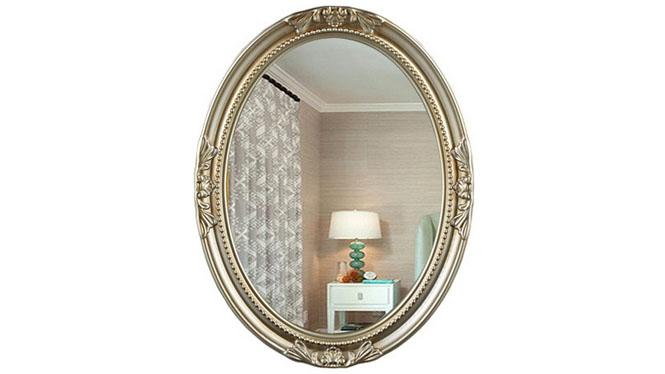 时尚化妆镜 可悬挂浴室镜装饰镜卫生间镜卫浴镜化妆镜KT068