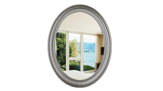 浴室镜子 壁挂穿衣镜 椭圆化妆镜 美容镜KT065