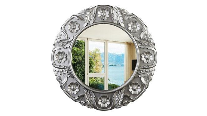 欧式风格铁艺镜框 浴室卫生间化妆镜酒吧壁挂镜子KT028