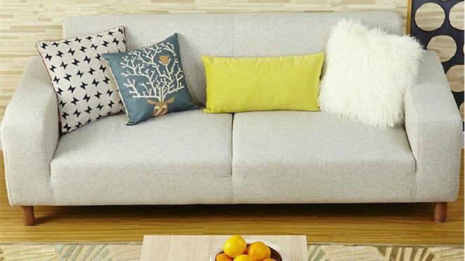 布艺沙发 现代简约客厅沙发