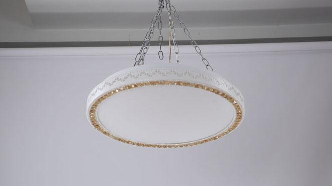 LED吸顶灯 现代简约时尚卧室灯客厅灯餐厅书房灯具灯饰6011