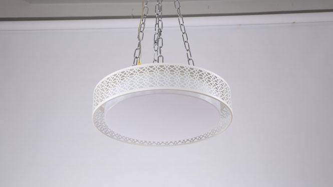 卧室灯LED吸顶灯客厅灯具大气简约亚克力无极调光个性餐厅灯6008