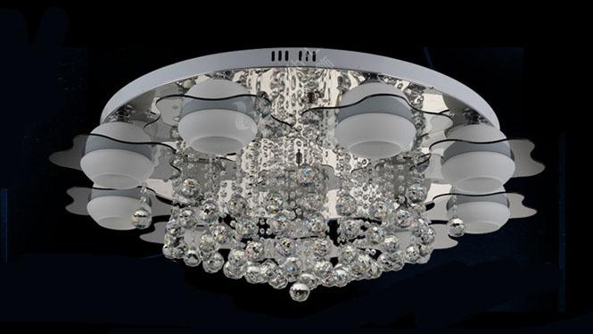 时尚吸顶灯 现代吸顶灯 卧室灯 星星款 玻璃吸顶灯HR1101