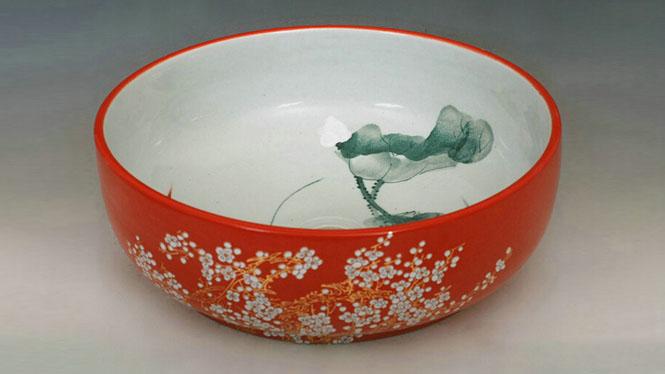 厨卫陶瓷盆艺术台盆洗脸盆青花瓷盆洗面盆超值Y-42