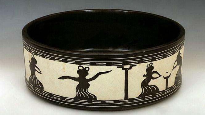 陶瓷 艺术台盆 脸盆 洗手盆 手工陶瓷艺术台盆W-05