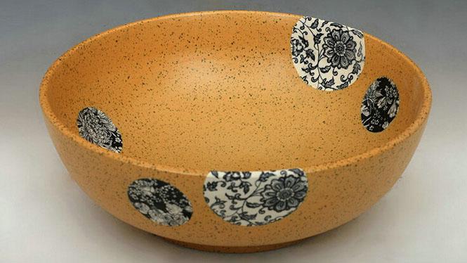 优质青花艺术台盆 陶瓷盆艺术盆 时尚简约 好看耐用Q-10