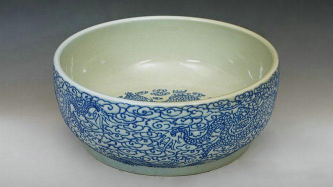 优质出口彩色陶瓷艺术盆台盆艺术陶瓷台盆T-03