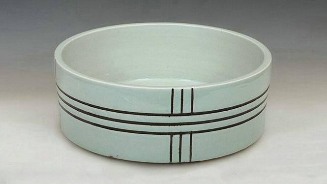 优质直筒型陶瓷台盆 洗手盆 洗脸盆 陶瓷面盆 家居摆件D-20