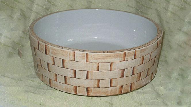 传统东南亚风格艺术台盆面盆台上盆洗脸盆 一体台盆D-24