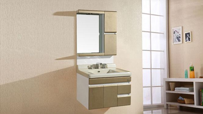 简约现代PVC挂墙式浴室柜组合卫生间卫浴洗脸洗手盆池洗漱台8178 800mm