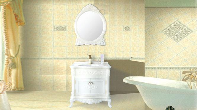 欧式玉石浴室柜组合玉石落地卫浴柜洗脸洗手盆柜800mm HW-8080