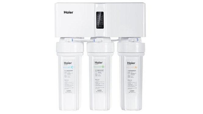进口RO膜反渗透双出水家用厨房直饮纯水机HRO5012A-5