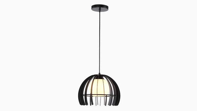 现代简约个性创意黑红白色半圆餐吊灯饰书房餐厅铁艺玻璃PG901