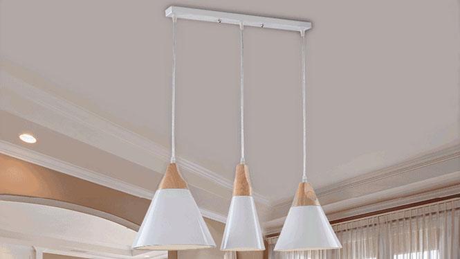 艺术吊灯吧台灯餐厅灯书房床头卧室简约现代个性创意铁艺单头吊灯PG917