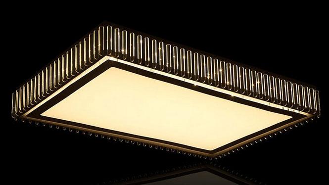 长方形现代LED客厅灯 简约卧室吸顶灯书房灯厂价灯饰灯具PS6230