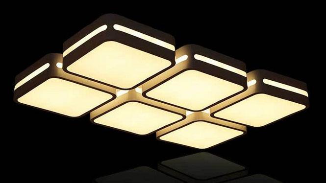 新款铁艺吸顶客厅灯 简约时尚卧室灯具灯饰PS6232