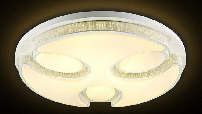 时尚LED吸顶灯具创意简约房间主卧室灯温馨餐厅客厅灯饰PS400