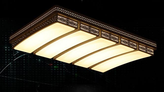 led吸顶灯客厅灯长方形大气现代简约卧室灯PS6110