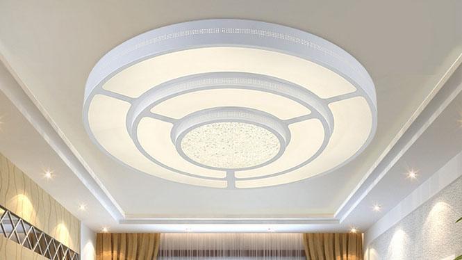 现代简约LED卧室灯具儿童房吸顶灯具田园客厅灯饰创意书房灯饰PS200