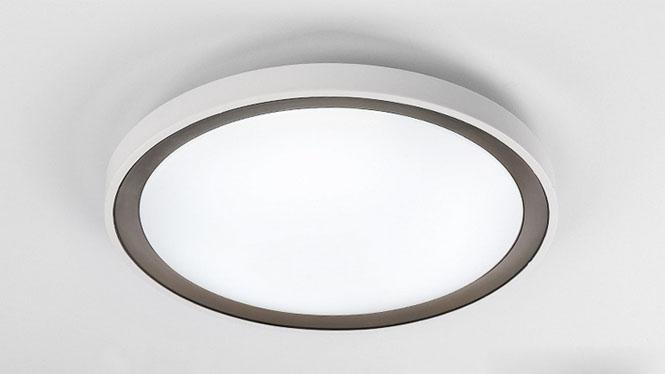 圆形卧室灯现代简约吸顶卧室灯温馨卧室吸顶灯书房灯灯饰PS6116