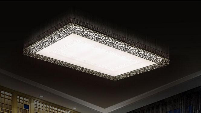 长方形客厅灯现代简约LED吸顶灯 时尚创意亚克力卧室灯 灯具灯饰PS6001系列