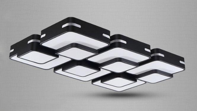 现代中式客厅灯 创意LED吸顶灯简约 卧室灯饰 卧室灯饰PS700系列