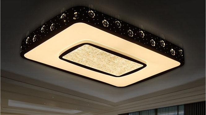 现代中式吸顶客厅灯 简约卧室灯花瓣吸顶灯PS6224