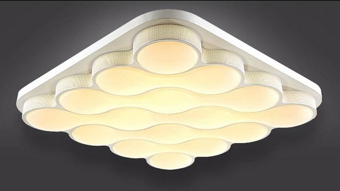 LED吸顶灯异形 卧室 客厅灯 大气浪漫 现代简约餐厅灯 灯具灯饰 PS500