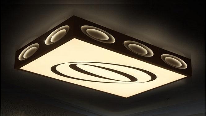 现代简约LED吸顶灯客厅灯 温馨时尚卧室灯饰灯具PS6225