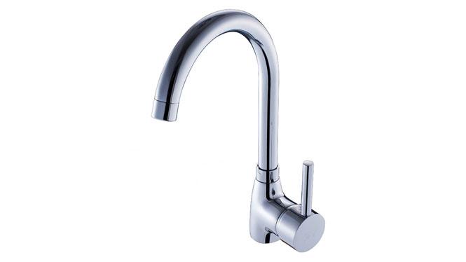 水槽 全铜 厨房水龙头 单冷水槽龙头 洗菜盆龙头 尖三通SX-3001