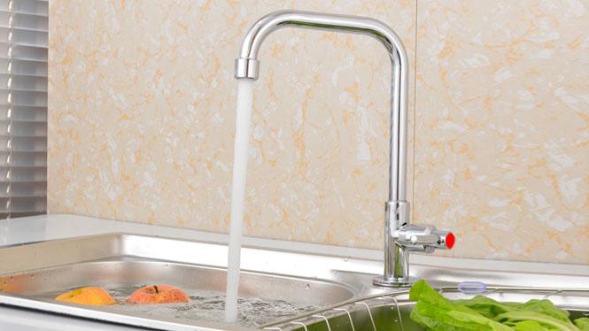厨房水龙头 单冷 全铜 厨房龙头 洗菜盆水槽龙头SX-3008