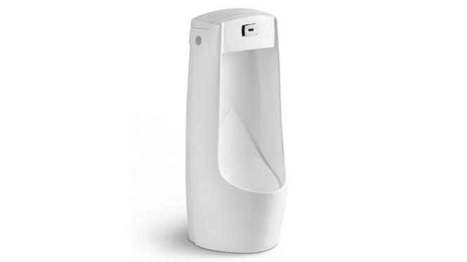 全自动感应小便斗感应器明装一体陶瓷立落地式地排男家用正品U06