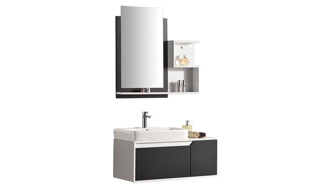 卫浴柜新品上市洗脸盆柜橡木洗手盆柜实木洗漱台浴室柜组合YP-809 900mm