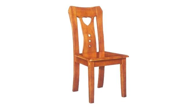 现代中式家具 全实木椅子 餐厅餐椅 优质无扶手实木餐椅915#