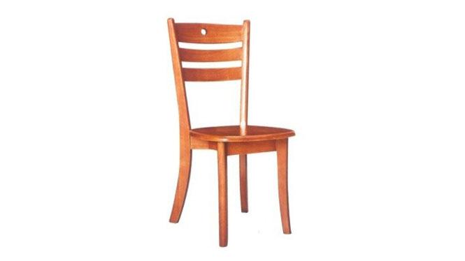 新款餐椅 进口精致实木餐椅 客厅全实木椅子 橡胶木餐椅917#