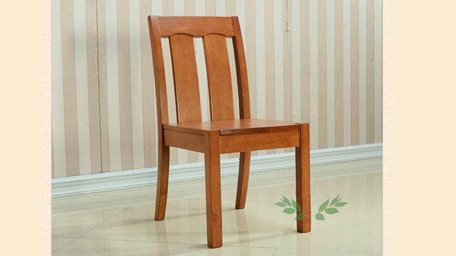 实木餐椅 现代餐椅 精致现代全实木椅子 实木客厅餐椅925#
